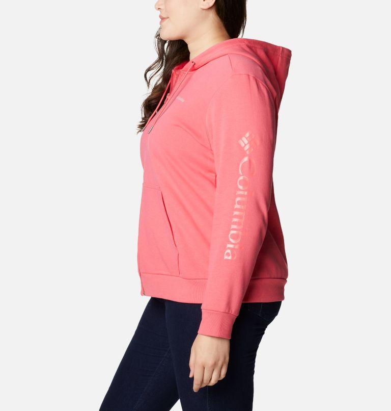 Women's Columbia™ Logo Full Zip Hoodie - Plus Size Women's Columbia™ Logo Full Zip Hoodie - Plus Size, a1