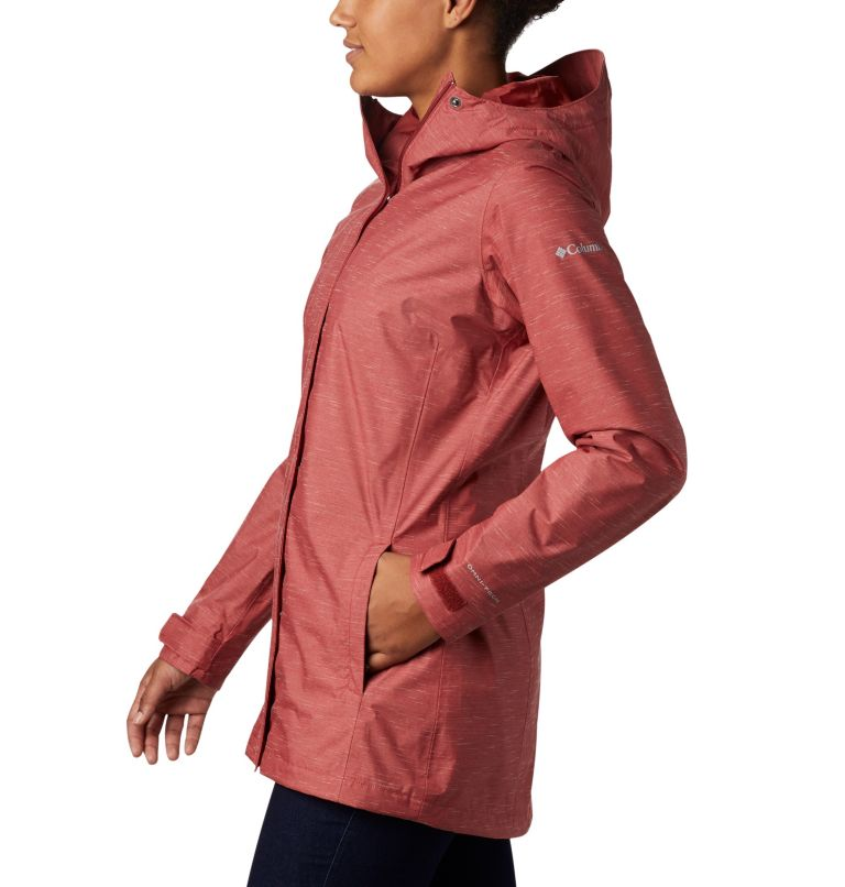 Splash A Lot™ Jacket | 638 | M Women's Splash A Lot™ Jacket, Dusty Crimson Slub, a1