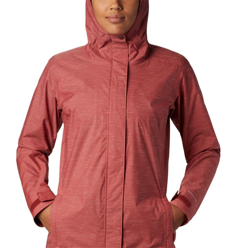 Splash A Lot™ Jacket | 638 | M Women's Splash A Lot™ Jacket, Dusty Crimson Slub, a2