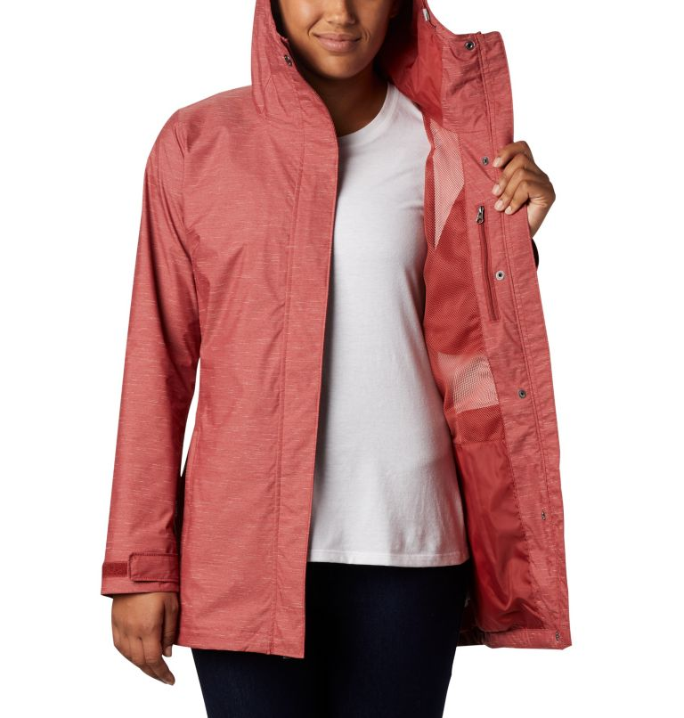 Splash A Lot™ Jacket | 638 | M Women's Splash A Lot™ Jacket, Dusty Crimson Slub, a3