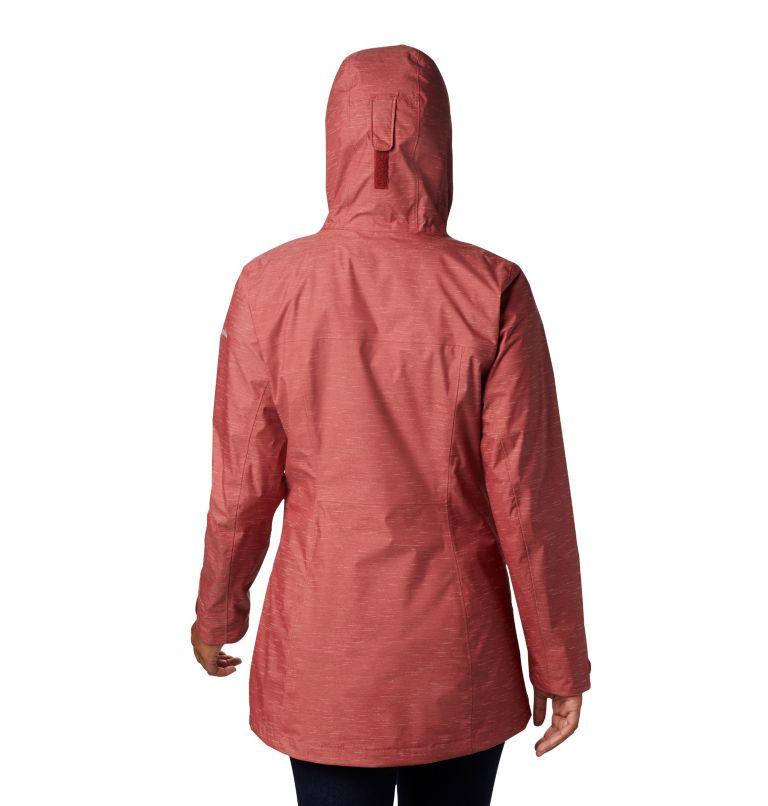 Splash A Lot™ Jacket | 638 | M Women's Splash A Lot™ Jacket, Dusty Crimson Slub, back