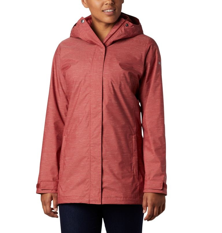 Splash A Lot™ Jacket | 638 | M Women's Splash A Lot™ Jacket, Dusty Crimson Slub, front