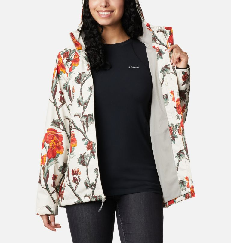 Inner Limits™ II Jacket | 191 | L Women's Inner Limits™ II Jacket, Chalk Botanical Print, a3