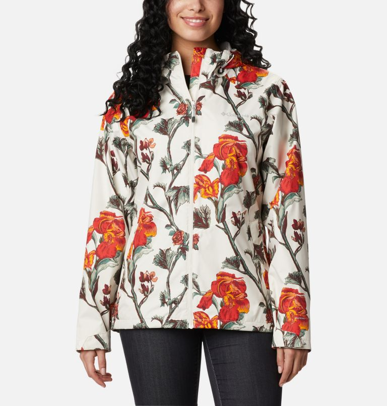Inner Limits™ II Jacket | 191 | L Women's Inner Limits™ II Jacket, Chalk Botanical Print, front