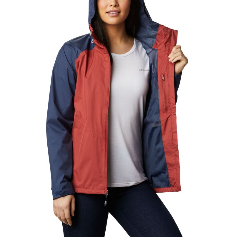 Inner Limits™ II Jacket | 638 | XL Chaqueta Inner Limits™II para mujer, Dusty Crimson, Nocturnal, a3