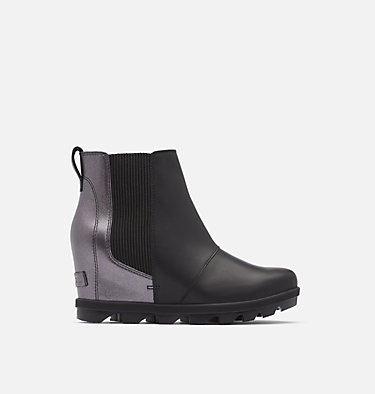Botte compensée Chelsea en peau de mouton Joan of Arctic™ pour femme JOAN OF ARCTIC™ WEDGE II CHELS | 224 | 6, Black, front