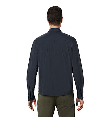 Men's Echo Lake™ Long Sleeve Shirt Echo Lake™ Long Sleeve Shirt | 325 | L, Dark Storm, back