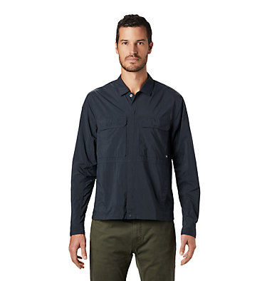 Men's Echo Lake™ Long Sleeve Shirt Echo Lake™ Long Sleeve Shirt | 325 | L, Dark Storm, front