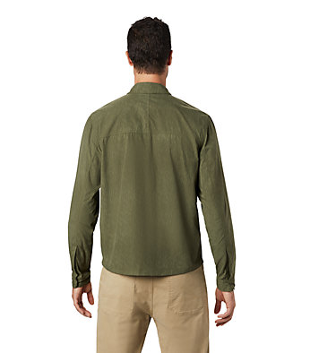 Men's Echo Lake™ Long Sleeve Shirt Echo Lake™ Long Sleeve Shirt | 325 | S, Dark Army Print, back