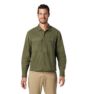 Men's Echo Lake™ Long Sleeve Shirt Echo Lake™ Long Sleeve Shirt | 325 | S, Dark Army Print, front