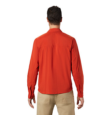 Men's Echo Lake™ Long Sleeve Shirt Echo Lake™ Long Sleeve Shirt | 325 | S, Desert Red, back