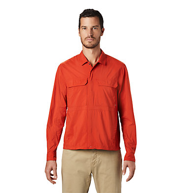 Men's Echo Lake™ Long Sleeve Shirt Echo Lake™ Long Sleeve Shirt | 325 | S, Desert Red, front