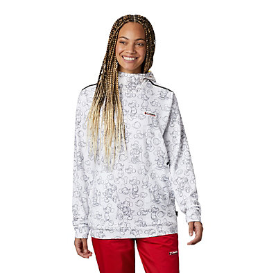 Unisex Disney Tech Trail Energy™ Popover Disney - Tech Trail Energy Popover | 691 | L, White, 3/4 front