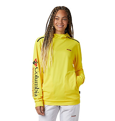 Unisex Disney Tech Trail Energy™ Popover Disney - Tech Trail Energy Popover | 691 | L, Yellow Glo, 3/4 front