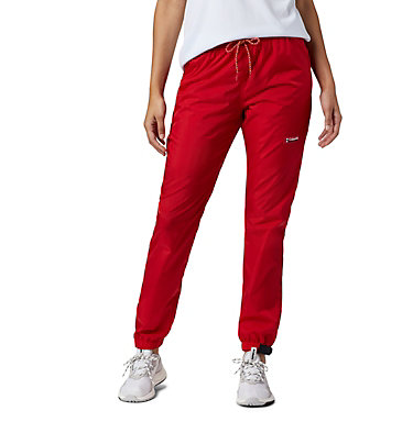 Unisex Disney Santa Ana™ Wind Pants Disney - Santa Ana Wind Pant | 691 | L, Bright Red, 3/4 front