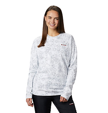 Unisex Disney Sun Deflector™ Top Disney - Sun Deflector Top | 101 | L, White, 3/4 front
