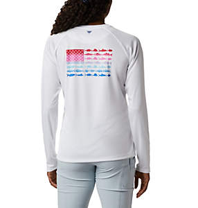 Women's Tidal Tee™ PFG Fish Flag Long Sleeve T-Shirt