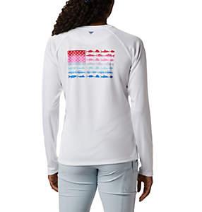 Women's Tidal Tee™ PFG Fish Flag Long Sleeve T-Shirt