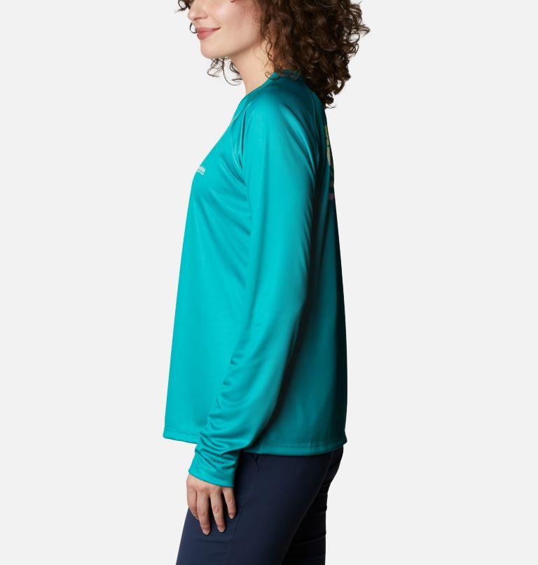 Women's Tidal Tee™ PFG Fish Flag Long Sleeve T-Shirt Women's Tidal Tee™ PFG Fish Flag Long Sleeve T-Shirt, a1