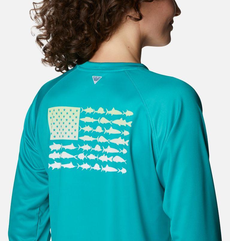 Women's Tidal Tee™ PFG Fish Flag Long Sleeve T-Shirt Women's Tidal Tee™ PFG Fish Flag Long Sleeve T-Shirt, a3