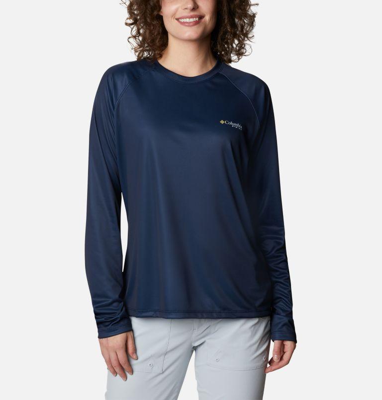 Women's Tidal Tee™ PFG Fish Flag Long Sleeve T-Shirt Women's Tidal Tee™ PFG Fish Flag Long Sleeve T-Shirt, front