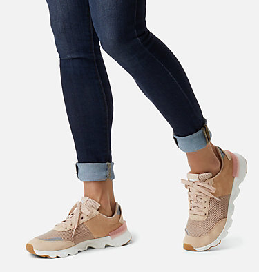 Women's Kinetic™ LITE Lace Sneaker KINETIC™ LITE LACE | 399 | 10, Natural Tan, 3/4 front