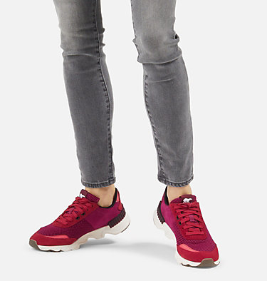 Women's Kinetic™ LITE Lace Sneaker KINETIC™ LITE LACE | 257 | 6, Red Dahlia, video