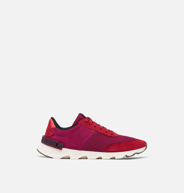 KINETIC™ LITE LACE | 660 | 8 Women's Kinetic™ LITE Lace Sneaker, Red Dahlia, front