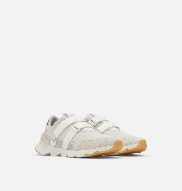 KINETIC™ LITE STRAP | 100 | 9.5 Women's Kinetic™ LITE Strap Sneaker, White, 3/4 front