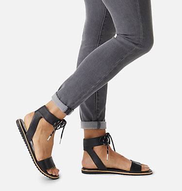 Sandale-mule à talons bloc Ella™ pour femme ELLA™ ANKLE LACE | 246 | 12, Black, video