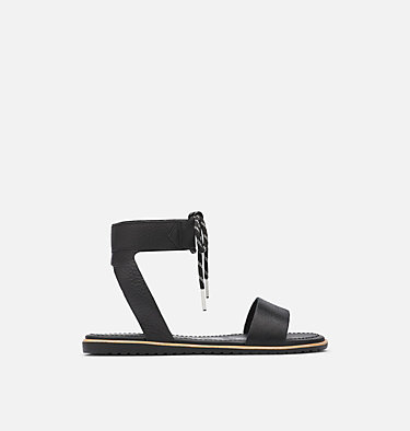 Women's Ella™ Ankle Lace Sandal ELLA™ ANKLE LACE | 246 | 12, Black, front