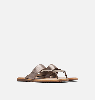 Sandale à lacets Ella™ pour femme ELLA™ FLIP | 875 | 8.5, Ash Brown, 3/4 front