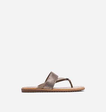 Sandale à lacets Ella™ pour femme ELLA™ FLIP | 875 | 8.5, Ash Brown, front