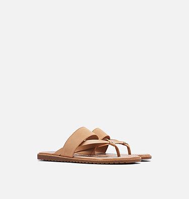 Sandale à lacets Ella™ pour femme ELLA™ FLIP | 875 | 8.5, Honest Beige, 3/4 front