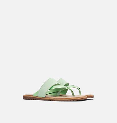 Women's Ella™ Flip Sandal ELLA™ FLIP | 399 | 10, Vivid Mint, 3/4 front