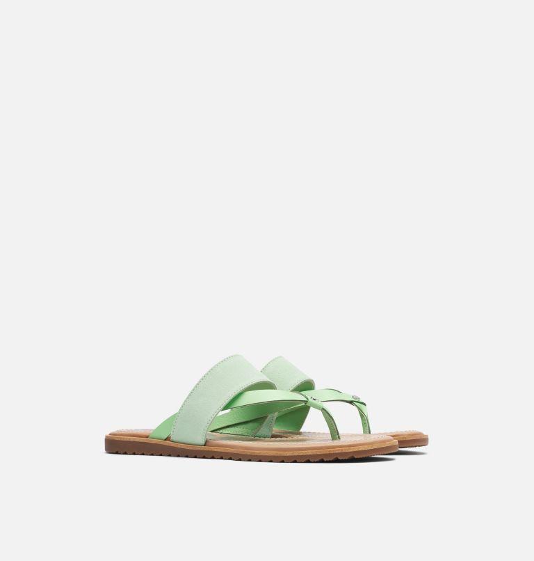 ELLA™ FLIP | 399 | 8.5 Women's Ella™ Flip Sandal, Vivid Mint, 3/4 front