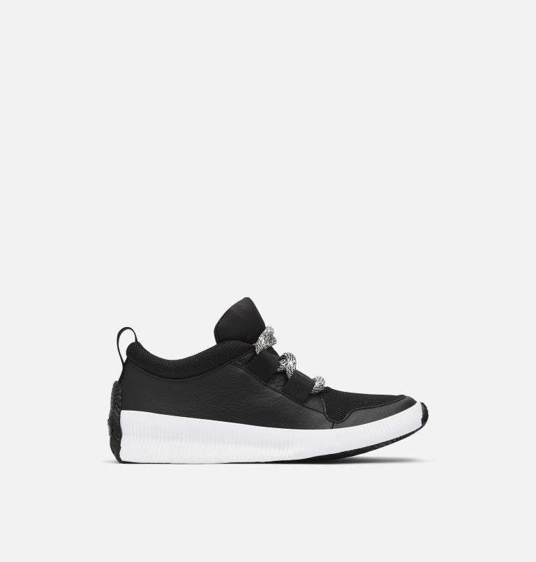 OUT N ABOUT™ PLUS STREET SNEAK | 010 | 5 Women's Out n About™ Plus Street Sneaker, Black, front