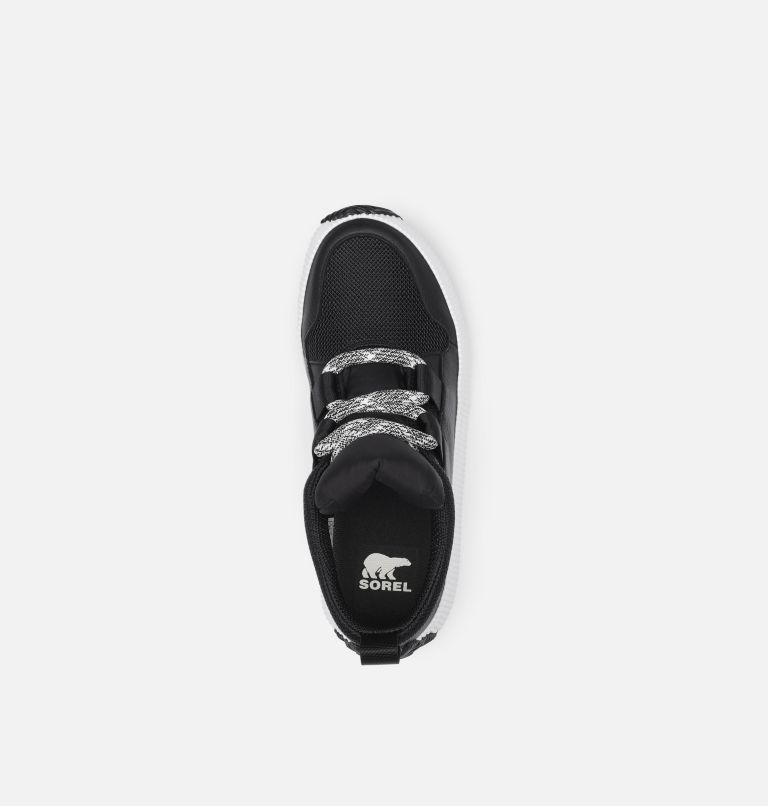 OUT N ABOUT™ PLUS STREET SNEAK | 010 | 5.5 Women's Out n About™ Plus Street Sneaker, Black, top