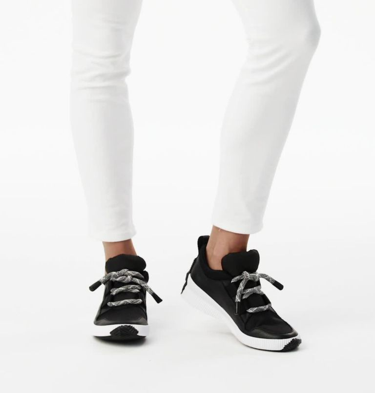 OUT N ABOUT™ PLUS STREET SNEAK | 010 | 5.5 Women's Out n About™ Plus Street Sneaker, Black, video