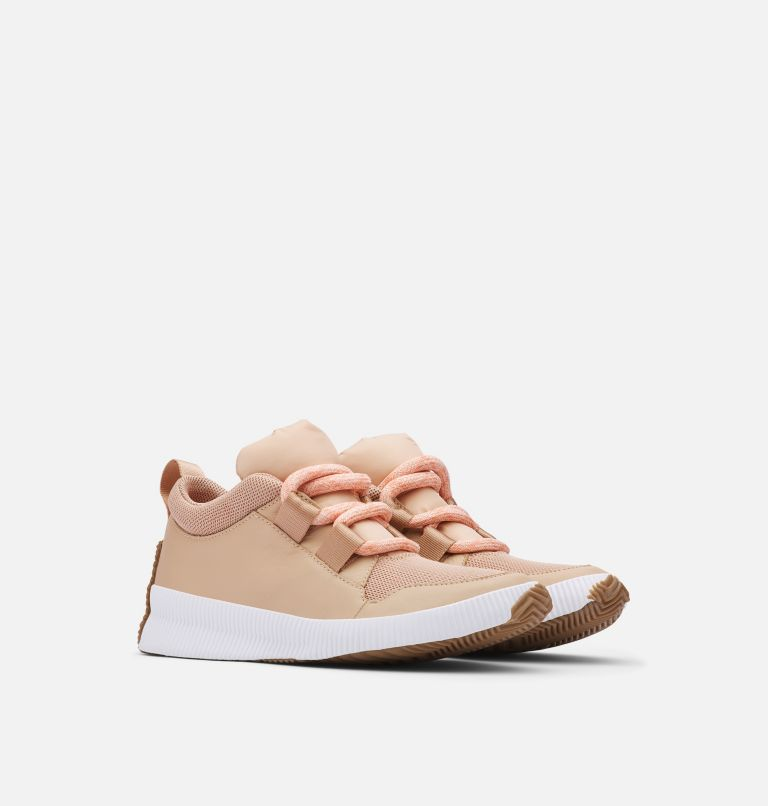 OUT N ABOUT™ PLUS STREET SNEAK | 257 | 9 Women's Out n About™ Plus Street Sneaker, Natural Tan, 3/4 front