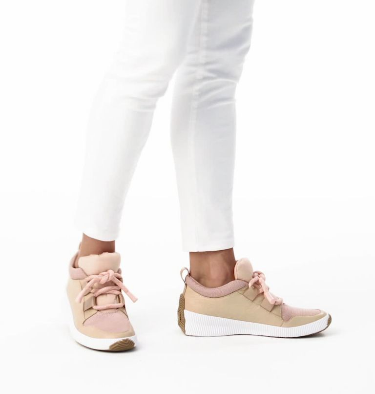 OUT N ABOUT™ PLUS STREET SNEAK | 257 | 9 Women's Out n About™ Plus Street Sneaker, Natural Tan, video