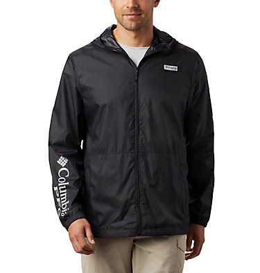 Men's PFG Three Streams™ Windbreaker Three Streams™ Windbreaker | 696 | L, Black, front