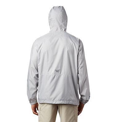Men's PFG Three Streams™ Windbreaker Three Streams™ Windbreaker | 696 | L, Cool Grey, back