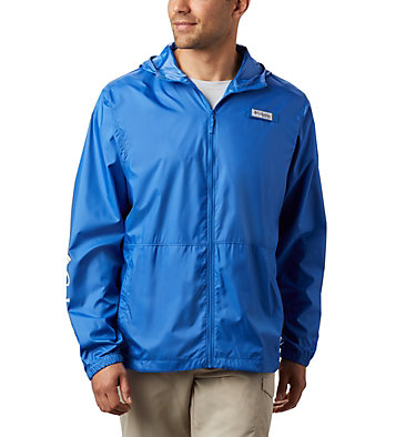 Men's PFG Three Streams™ Windbreaker Three Streams™ Windbreaker | 696 | L, Vivid Blue, front