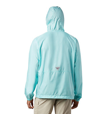 Men's PFG Three Streams™ Windbreaker Three Streams™ Windbreaker | 696 | L, Gulf Stream, back