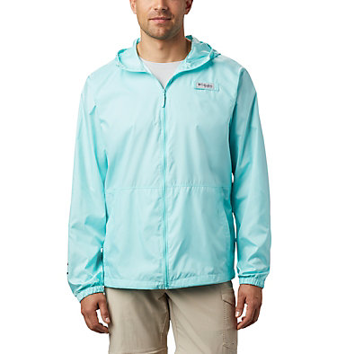 Men's PFG Three Streams™ Windbreaker Three Streams™ Windbreaker | 696 | L, Gulf Stream, front