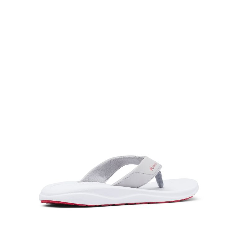 COLUMBIA™ FLIP | 088 | 11 Men's Columbia™ Flip Flop, Steam, Rocket, 3/4 back