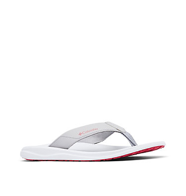 Men's Columbia™ Flip Flop COLUMBIA™ FLIP | 088 | 10, Steam, Rocket, 3/4 front