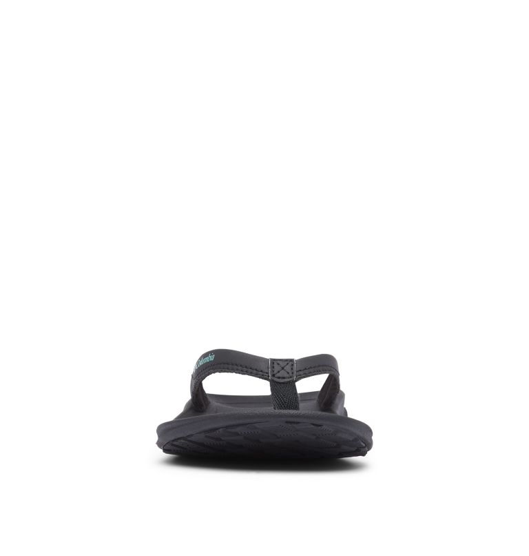 COLUMBIA™ FLIP | 010 | 12 Women's Columbia™ Flip Flop, Black, Copper Ore, toe