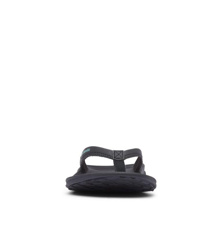 COLUMBIA™ FLIP   010   8 Women's Columbia™ Flip Flop, Black, Copper Ore, toe